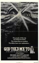 God Told Me To Movie Poster (11 x 17) MOV206375