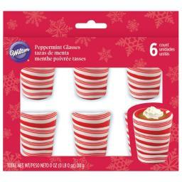 Peppermint Candy Cups 6/Pkg- W46032