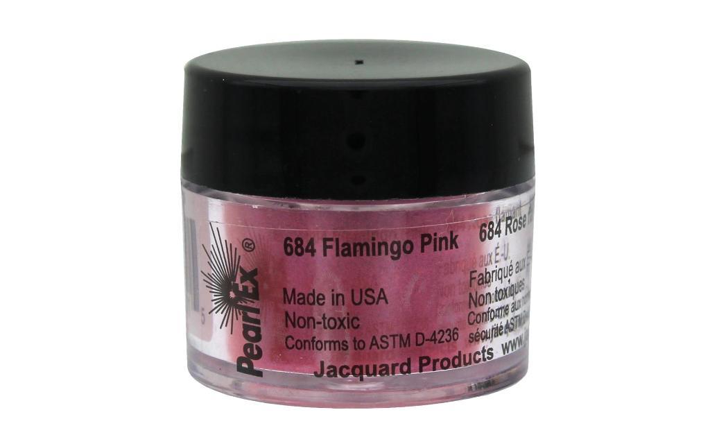 F-jpxu684 jacquard pearl ex pigmnt pwdr 3g flamingo pink