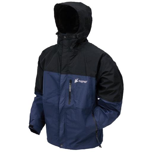 Frogg toggs nt66301-122sm frogg toggs youth toad rage jacket dust blue/black – small