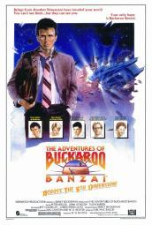 The Adventures of Buckaroo Banzai Across the Eighth Dimension Movie Poster Print (27 x 40) MOVCF6187