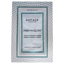 Nuface Prep-N-Glow Textured Cleansing Cloth By Nuface For Women - 1 Pc Cloths  1 Pc