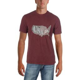 American Rag Mens Country Cotton Short Sleeve Graphic T-Shirt
