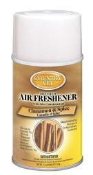 Country Vet Cinnamon and Spice Scent Air Freshener Refill 6.6 oz. Aerosol - Case Of: 1;