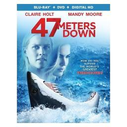 47 meters down (blu ray/dvd w/digital hd) BR52690