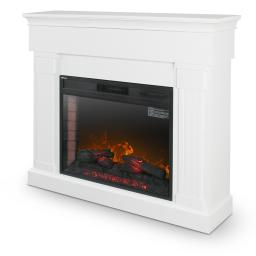 """DELLA 42"""" Electric Fireplace and Mantel