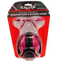 Allen cases 2317 allen cases 2317 orchid womens shooting muff & glasses
