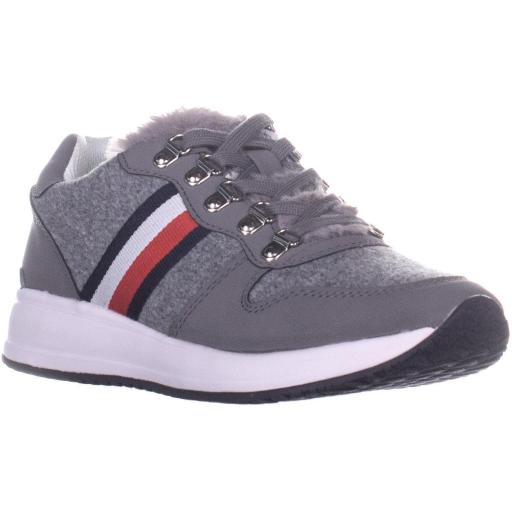 8907476b Tommy Hilfiger Tommy Hilfiger Riplee Lace Up Sneakers, Light Gray ...