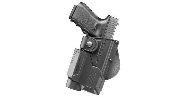 Fobus rbt17-lt3 fobus rbt tactical paddle holster with lighthouse iii-rh