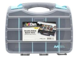 Atb6877ag artbin quick view carrying case 12 5 dbl sd aqua