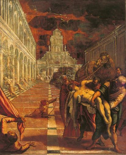 The Stealing Of The Dead Body Of St Mark Poster Print 888072