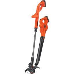 Black And Decker Lcc222 20-Volt Max* Lithium 10 String Trimmer/Edger, Hard Surface Sweeper & 2-Battery Combo Kit