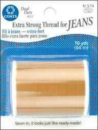 Extra Strong Thread For Jeans 70yd-Golden N574