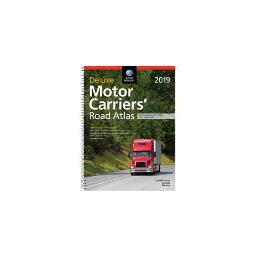 Rand mcnally 0528019899 2019 deluxe motor carriers     road atlas