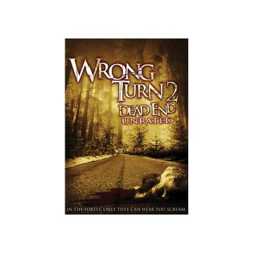 WRONG TURN 2-DEAD END (DVD/UNRATED/WS-1.78/ENG-SP SUB/SENSORMATIC) D9CB047CD9085B01