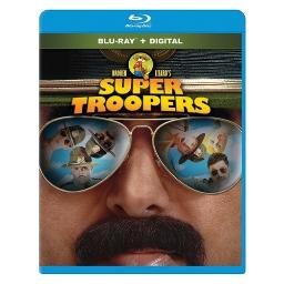 Super troopers (blu-ray/ws/dd5.1/eng-spa-fre/eng & spa subtitles) BR2353177