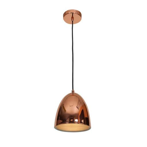 Access Lighting 28090-SCP 8 in. Essence 1 Light Shiny Copper Pendant Ceiling Light