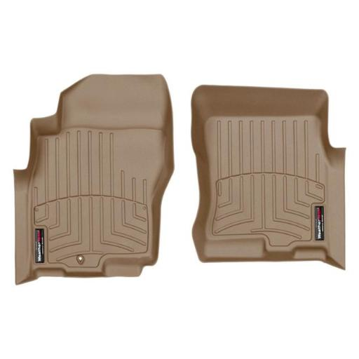 WeatherTech 450331 Custom Front Floor Liner for 2005-2015 Nissan Xterra - Tan T22T8AJXW1B7YCPF