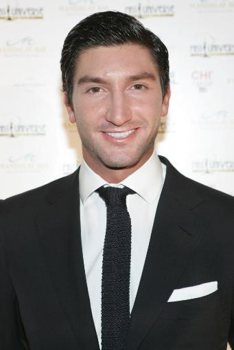 Evan Lysacek At Arrivals For Miss Universe 2010 Pageant - Arrivals, Mandalay Bay Hotel & Casino, Las Vegas, Nv August 23, 2010. Photo By James.