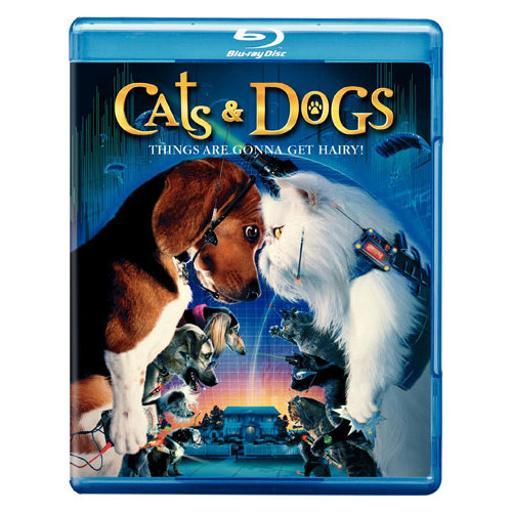 Cats & dogs (blu-ray/ff-16x9/eng-sp-fr sub) 1286521
