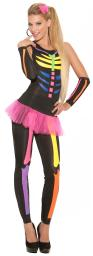 Womens Scary Bones Halloween Costume 9937-SSALE