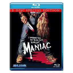 Maniac-30th anniversary edition (blu ray) BRBLU7003