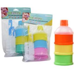DDI 1996231 FamilyMaid Baby Powdered Milk Stackable Containers & Bottle + Nipple Brush Set Case of 24