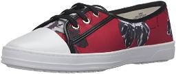Anne Klein AK Sport Women's Zagger Fashion Sneaker, Red/Multi, 9.5 M US