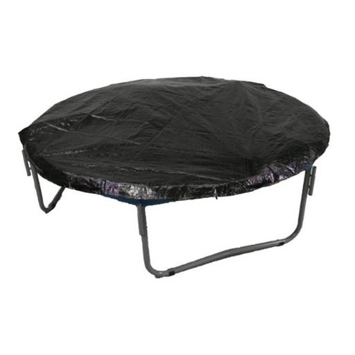 Upper Bounce 12' Trampoline Protection Cover (Weather & Rain Cover) Fits for 12 FT. Round Trampoline Frames - Black QR8LQAHMV5F3FYAL
