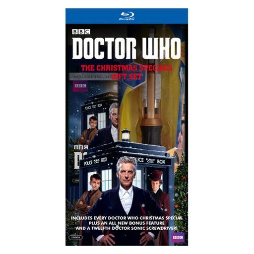 Dr who-christmas specials (blu-ray/giftset/giftbox/3 disc//sonic screw) 1288599