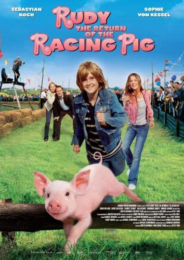 Rudy The Return of the Racing Pig Movie Poster (11 x 17)