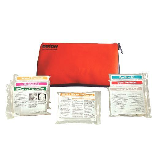 Orion safety products orion voyager floating first aid kit soft case 847