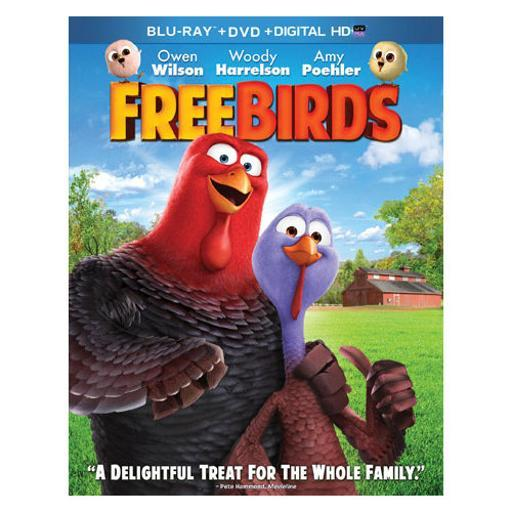 Free birds (blu-ray/dvd/dc/uv/2 disc/ws-1.85) 2565RJ1HRNZ61U06