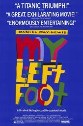My Left Foot Movie Poster (11 x 17) MOVAE7175