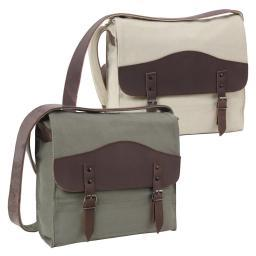 Rothco Vintage Canvas Medic Shoulder Messenger Bag w/Leather Accents