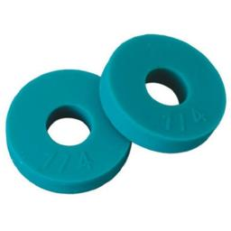 Brass Craft SCB2107 .25 Flat Faucet Washer, Green - 10 Pack