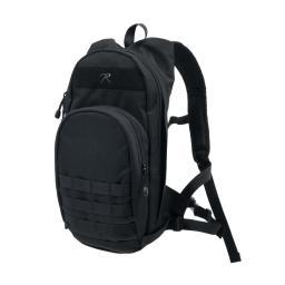 Rothco Quickstrike Narrow Profile Tactical Backpack, Hydration Compatible, Black 2930