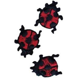 450988 RRE6CA77B Iron On Appliques Ladybugs 63 in 3 Pkg C8BBB58DFFF