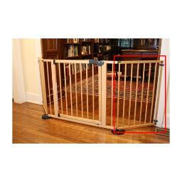 Cardinal Gates Vg20Wd Wood Cardinal Gates Versagate Hardware Mounted Pet Gate Extension Wood 20 X 30.5