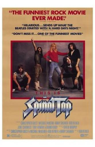 This is Spinal Tap Movie Poster (11 x 17) KM2JIXNAKZ0HWP3O