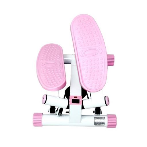 Sunny Health & Fitness P8000 Adjustable Twist Stepper, Pink