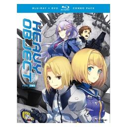 Heavy object-season one part two (blu ray/dvd combo) (4discs) BRFN01736