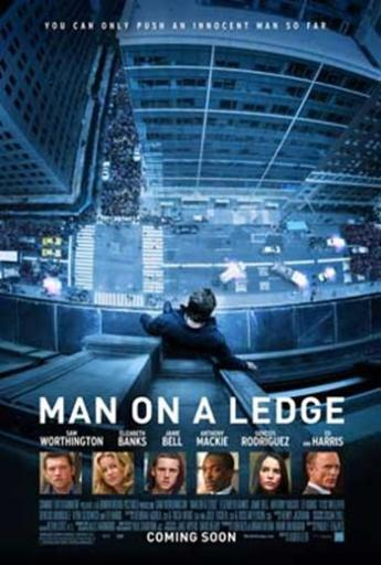 Man on a Ledge Movie Poster (11 x 17) MYHR8IYB7GEFAKO1