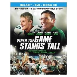 When the game stands tall (blu-ray/dvd combo/ultraviolet/ws 1.85/dd5.1) BR43941
