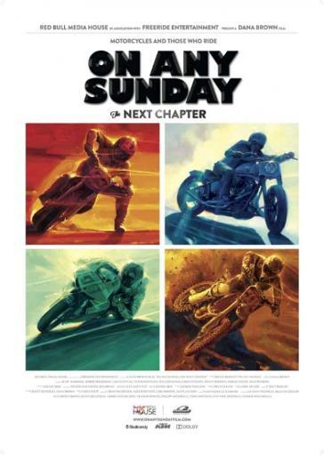 On Any Sunday, The Next Chapter Movie Poster Print (27 x 40) KP86PA4PIXKGKOEF