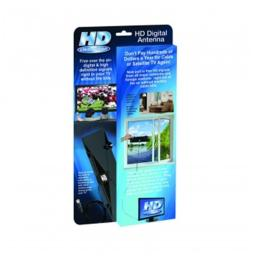 As Seen On Tv HDFMC12-4 HD-12 Clear Vision Ultra-Thin High Performance Indoor HDTV Antenna