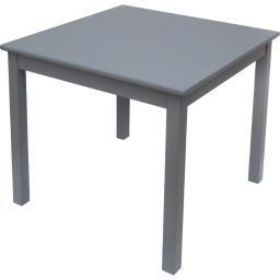 Lipper 520g childs square table grey