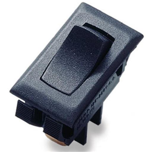 Gardner Bender GSW-41 Medium Duty Black Rocker Switch