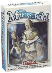 Grey Fox Games Captain's Wager The Maelstrom Expansion Board Game
