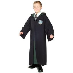 Harry Potter Child's Deluxe Slytherin Robe, Medium
